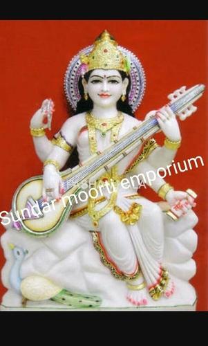 Saraswati Marble Moorti