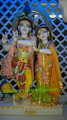 Radhe Krishna Marble Murti