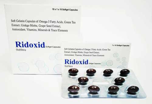 Antioxidant & Multivitamin Softgel Capsules