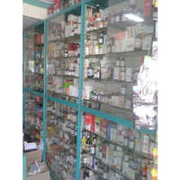 Medicine Display Rack