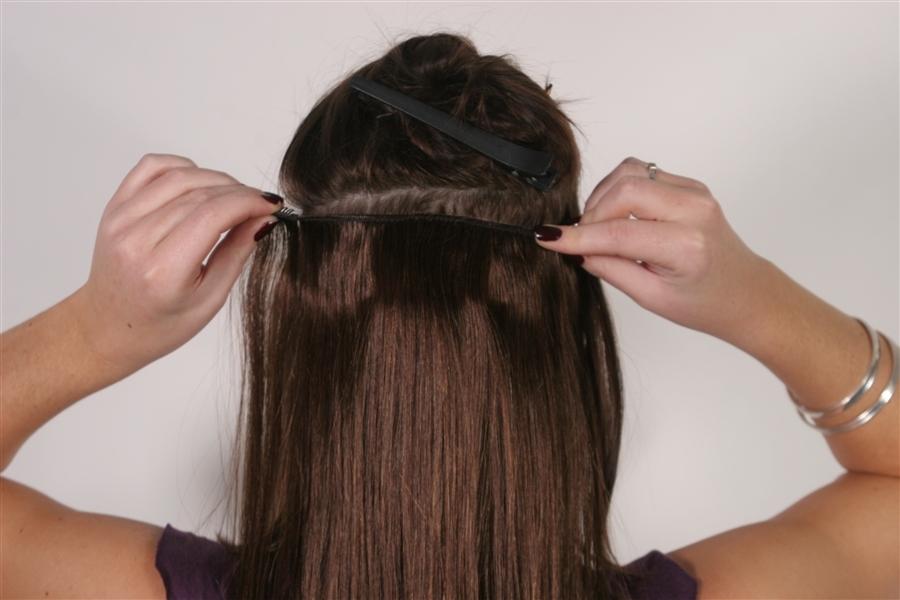 CLIP IN HAIR NON REMY HAIR