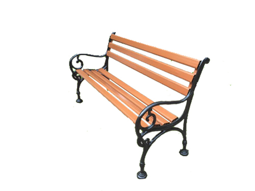 Kingsville Cast Iron Garden Bench
