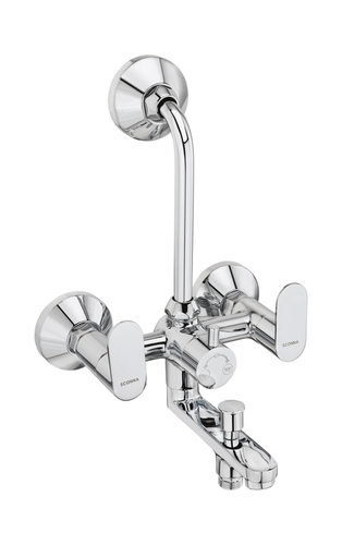 Wall Mixer 3 In 1 With Bend