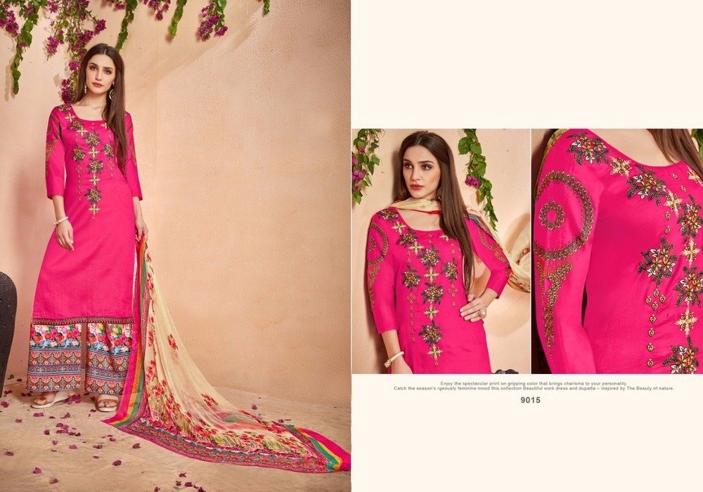 Ethnic Cotton Dress Material