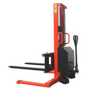 HES Electric Lift Straddle Stacker