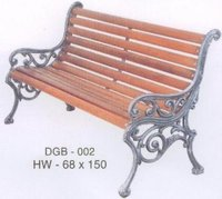 Miller Cast Iron Garden Bench