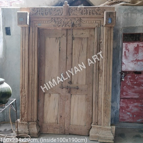 Teak Carving Door