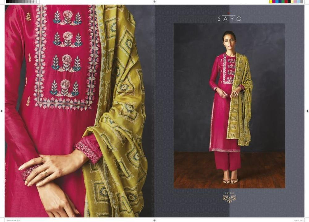 Ladies Silk Suits Collection