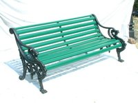 Veronica Cast Iron Garden Bench