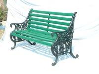 Indiana Cast Iron Garden Bench