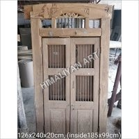 Ready Made TEAK Wooden Door