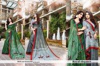 Designer Cotton Printed Sarees