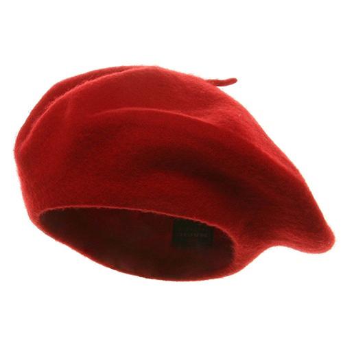 Red Beret Cap
