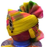 Multicolour Designer Safa