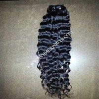 Natural Hair Extension 9a Grade Curly Human Hair