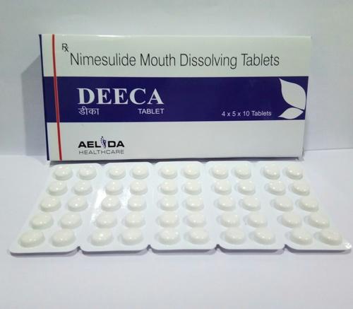 Nimesulide Mouth Dissolving Tablets