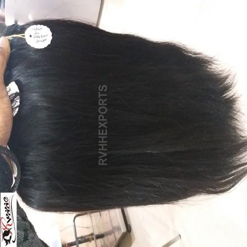 Premium straight human hair  extension