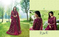 Lunching Georgette  Designer  Salwar  Suits