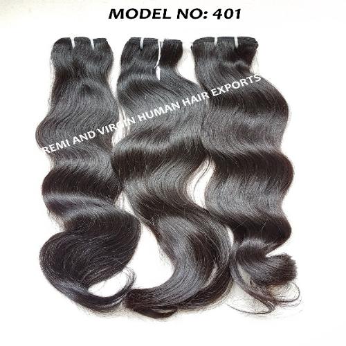 Virgin hair body wave style human hair
