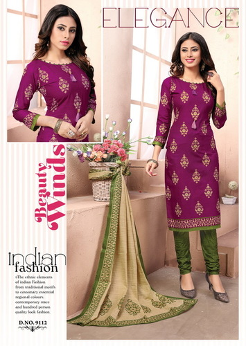Printed Cotton Dress Exporters