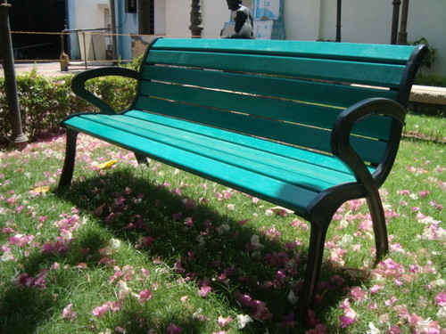 Imperial Cast Iron Garden Bench