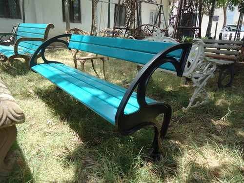 Nevada Cast Iron Garden Bench