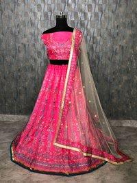 Beautiful designer Pink Lehenga Choli
