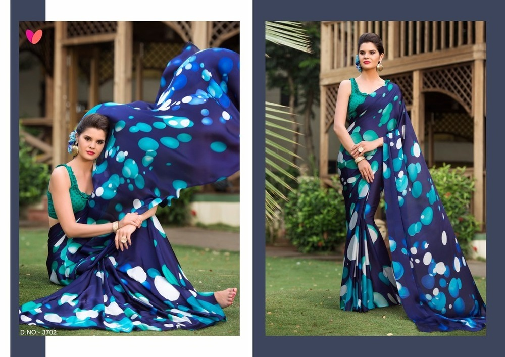 Beautiful Printed Silk Sarees