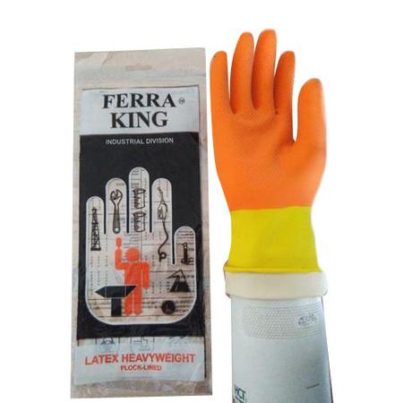 Ferra King Heavy Weight Rubber Gloves