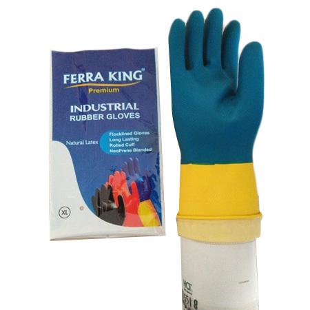 Bicolour Gloves