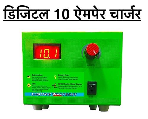 Digital 12V/ 10amp SMPS Battery Charger