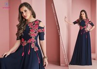 Stylish Georgette Long Kurtis