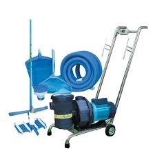 Swimming Pool Suction Sweeper Pump & Trolley