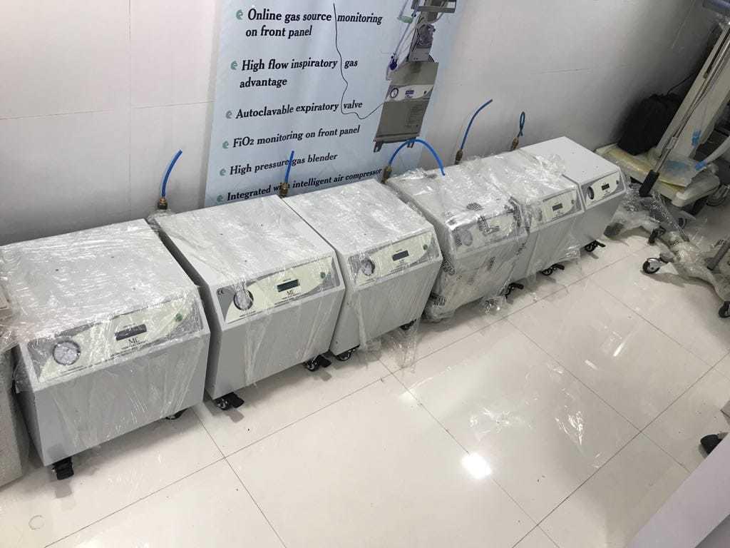 Medical Grade - Air Compressor For Ventilators