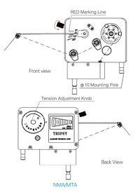NMA/MTA Series Magnetic Tensioner