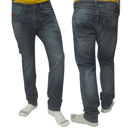 Mens Basic Dusty Shade Jeans