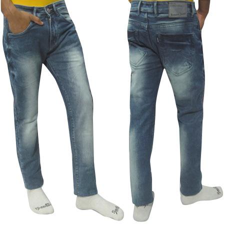 Mens Heavy Monkey Wash Jeans