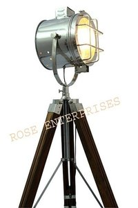 Nautical  Tripod Floor Light Standing Studio Light Lamp