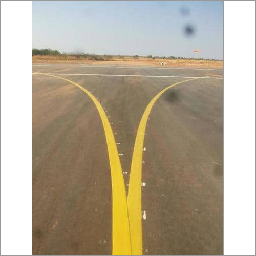 Thermoplastic Road Marking Paint Yellow