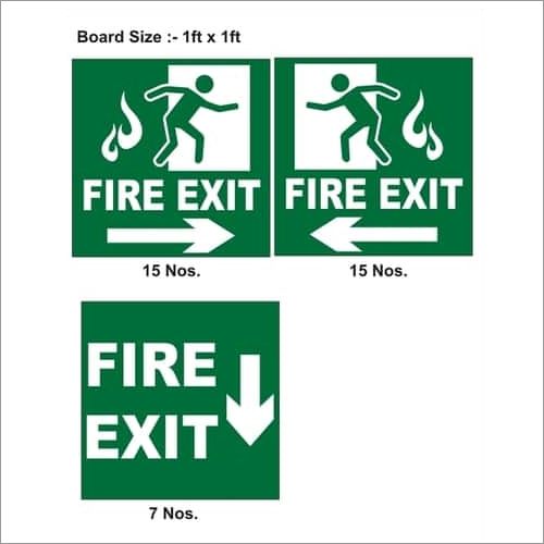Exit Sign Boards