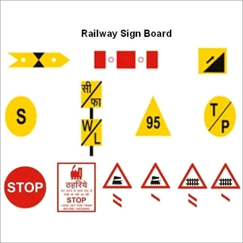 Railway Sign Boards