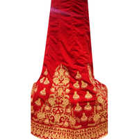 Ladies Red Bridal Lehenga