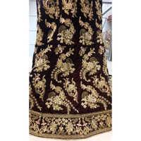 Velvet Designer Bridal Lehenga