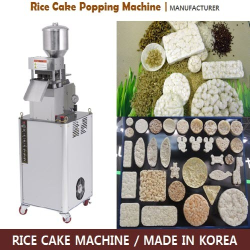 Rice Cakes Making Machine from Korea