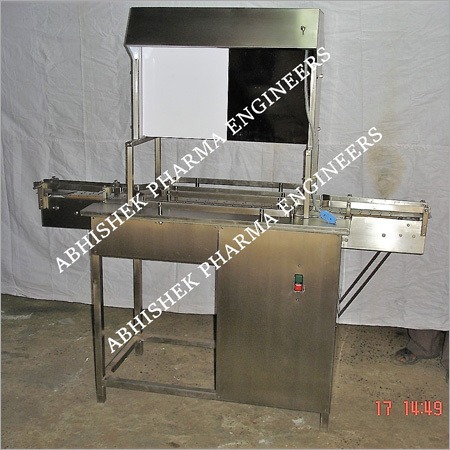 2 Operator Visual Inspection Conveyor