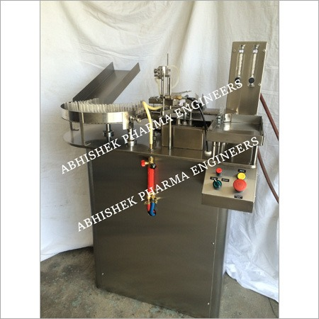 Vertical Head Ampoule Filling Sealing Machine