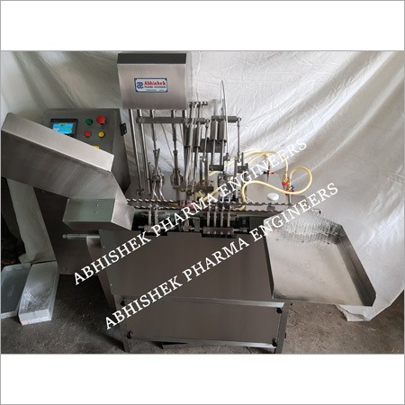 Two Head Servo Ampoule Filling  Machine