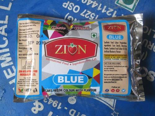 Zion Blue Dry Colour