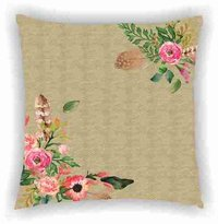 Leaf Digital Print Cushion Cover