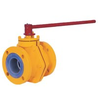 PFA FEP Lined Ball Valves